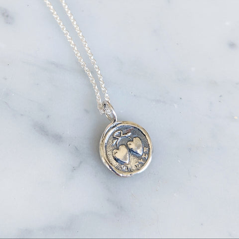 Forever Wax Seal Necklace
