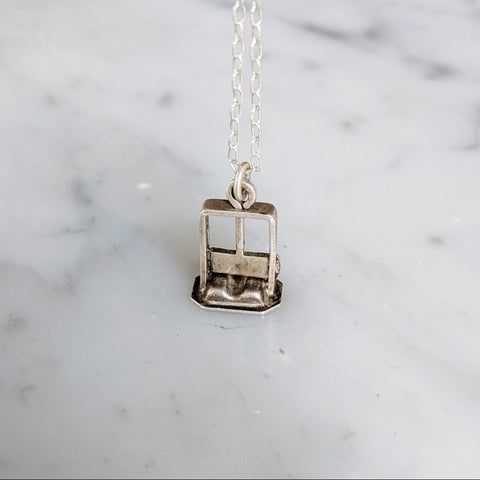 Antique Guillotine Necklace