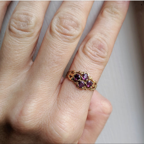 Antique Natural Ruby Ring