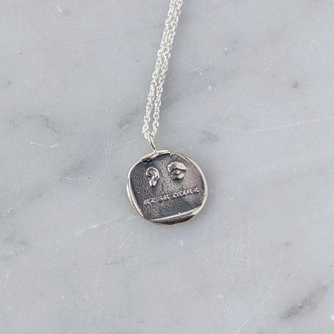 Et Se Taire Wax Seal Necklace