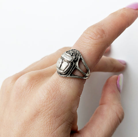 Antique Scarab Ring