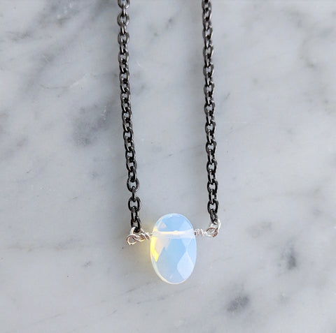 Dark Opalite Necklace