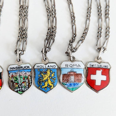 Vintage Tourist Necklaces