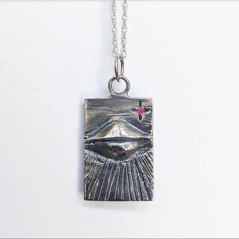 All Seeing Eye Ray Necklace
