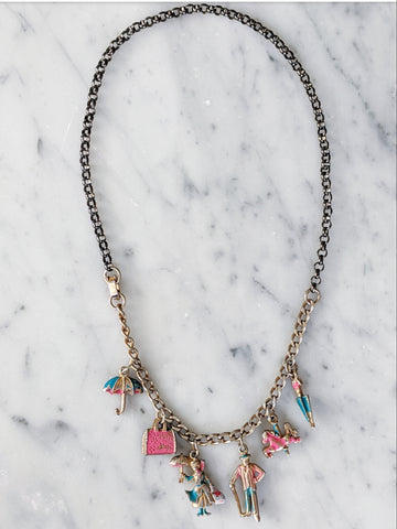 Vintage Mary Poppins Necklace