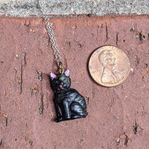 Antique Stanhope San Francisco Cable Car Necklace