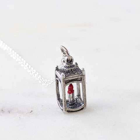 Antique Lantern Necklace