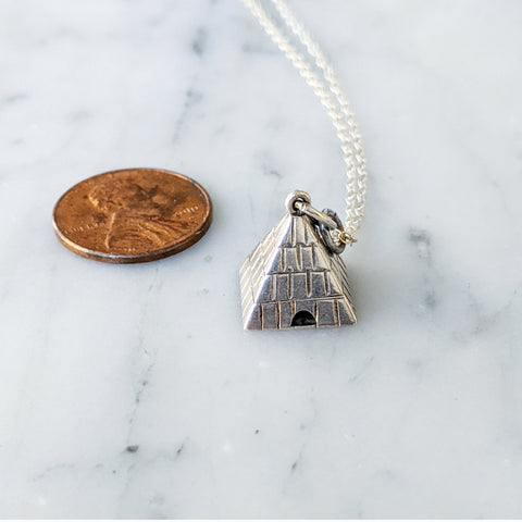 Vintage Pyramid Necklace