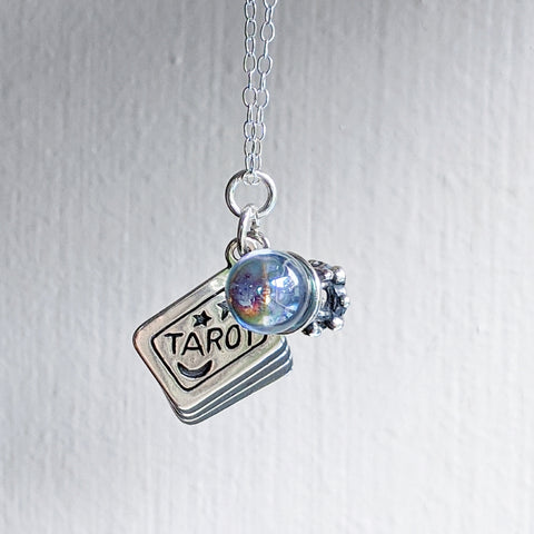 Fortune Teller Charm Necklace