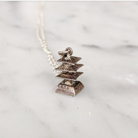 Vintage Pagoda Necklace