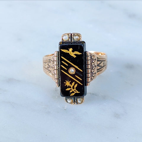 1884 Memento Mori Ring