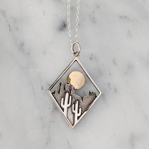 Desert View Necklace