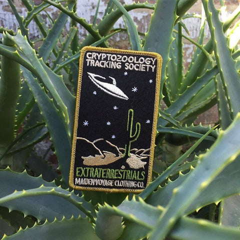 Cryptozoology Tracking Society: Extraterrestrial Patch