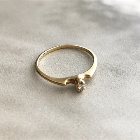 Victorian 10k Gold Sphere Ring
