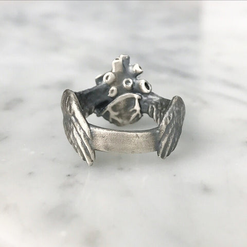 Winged Corazon Ring