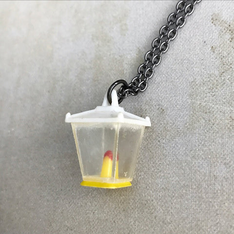 Vintage Toy Lantern Necklace