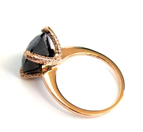Dark Crystal Talon Ring