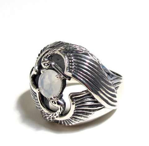 Egret Flight Ring