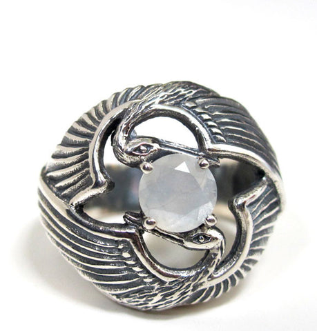 Crystal Talon Ring Size 6