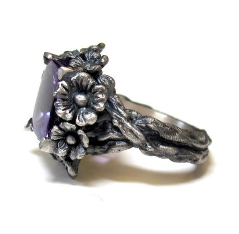 Immedate Shipping Forget Me Not Ring Sz 6