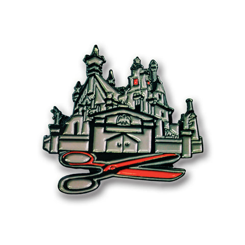Scissor House Pin