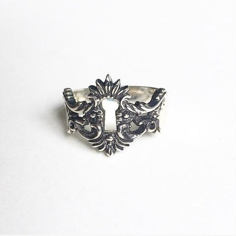 Victorian Keyhole Ring
