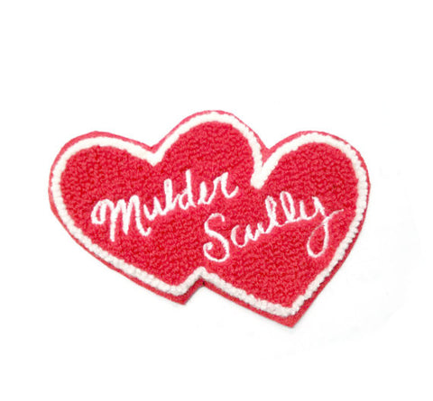 Mulder + Scully Forever Chenille Patch