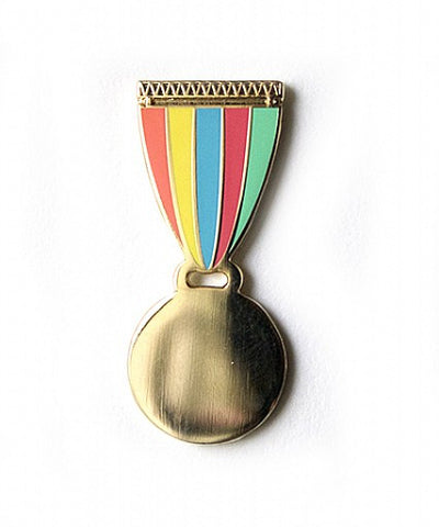 Gold Medal Pin