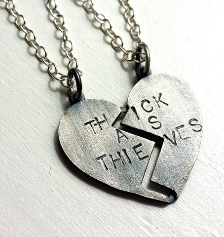 Thick As Thieves Necklaces