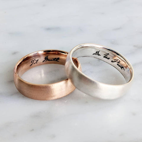 Til Death Do Us Part Wedding Bands