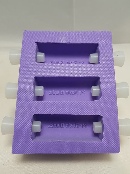 Resin Saver Tube in Moulds