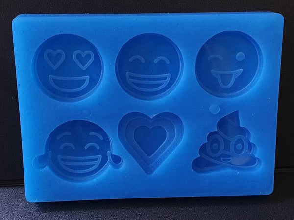 Emoji Silicone Mould