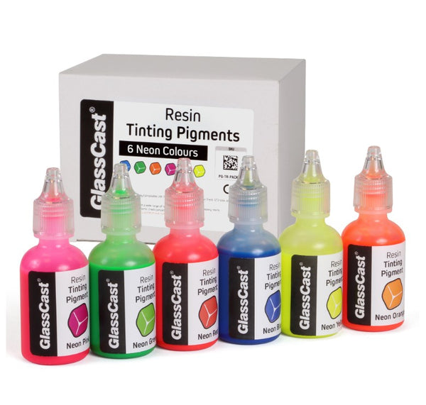 GlassCast Tinting Pigments