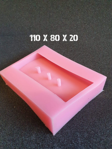 Soap Dish Silicone Mould