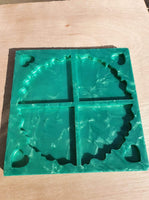 Quadrant Coaster Silicone Mould