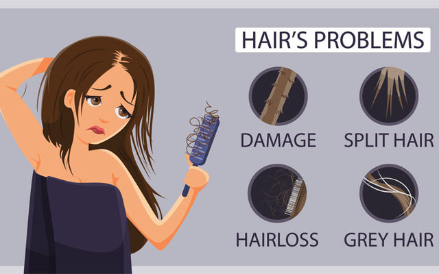 Common Hair Problems And Their Treatments