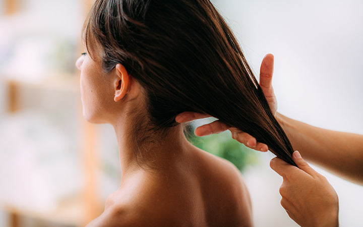 Ayurveda Essential Oil Treatment for Healthy Hair