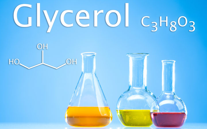 glycerol chemical substance with formula