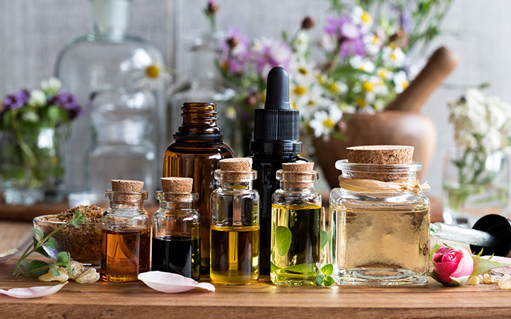 ayurvedic essential herbs and oils for face steaming