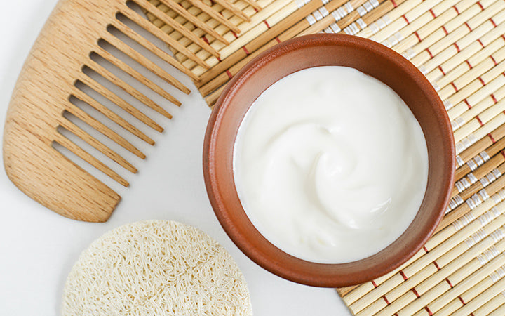 greek yogurt mask for face and hair