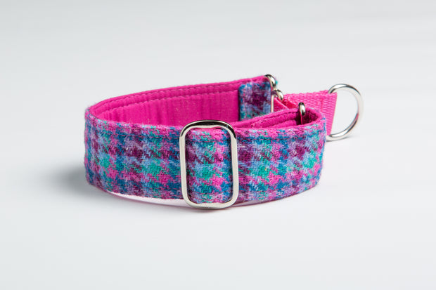 Pink Multi Check - Collared Creatures