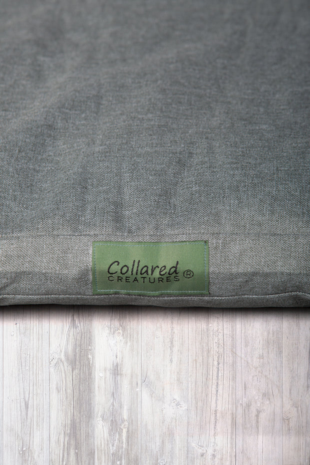 Sage Oxford Flat Bed - Collared Creatures