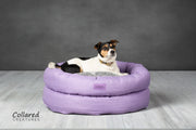 Lilac Deluxe Donut Bed - Collared Creatures