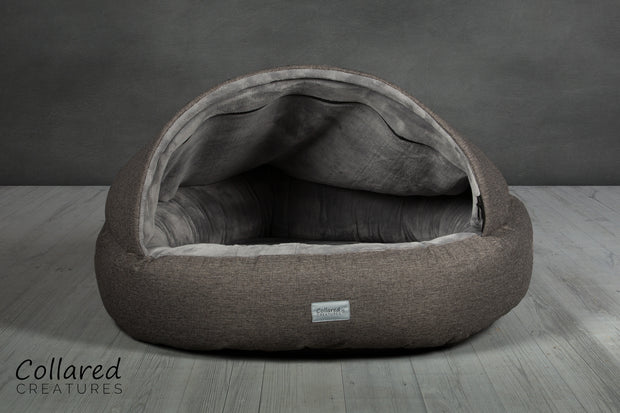 Grey Deluxe Comfort Cocoon - Collared Creatures