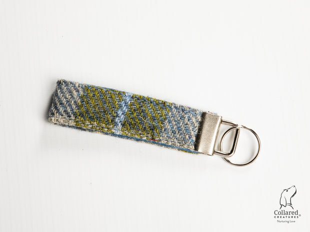 Collared Creatures Old Shawbost Tweed (Amor Weavers) Luxury Keyring