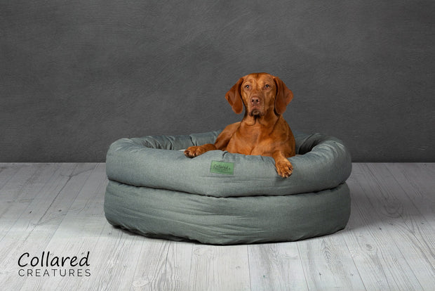 Sage Deluxe Donut Bed - Collared Creatures