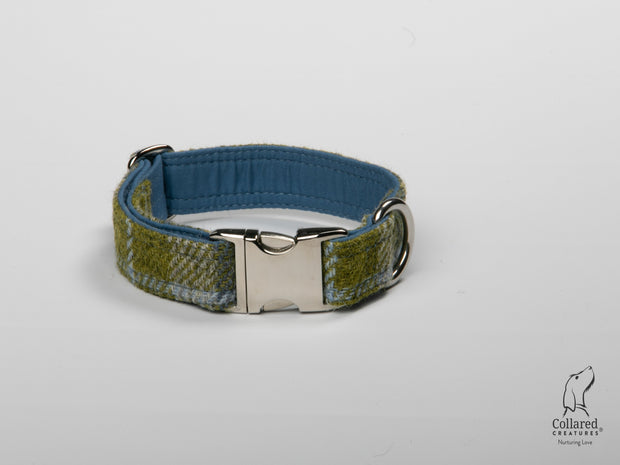 Collared Creatures Old Shawbost Tweed (Amor Weavers) Luxury Dog Collar
