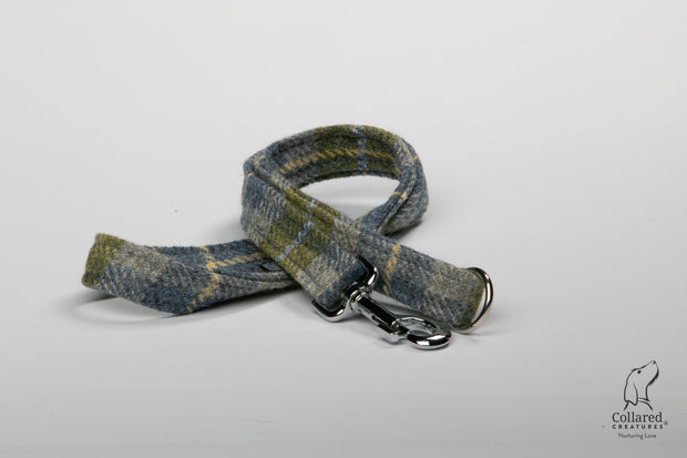 Collared Creatures Old Shawbost Tweed (Amor Weavers) Luxury Dog Lead