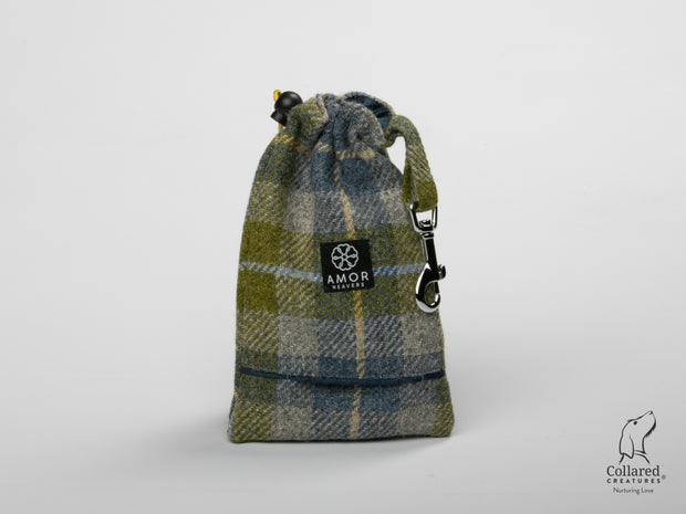product photo of collared creatures old shawbost tweed treat bag