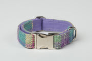 Summer Pastels Harris Tweed Check - Collared Creatures